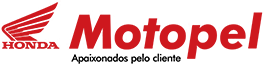 Logo Motopel Honda - Lider em venda de motos Honda na Bahia