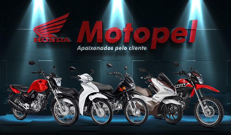 Motos Honda Motopel. Quer comprar sua moto Honda zero?