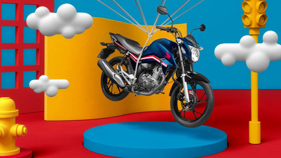 Consórcio Honda Motopel - Seu sonho de ter uma moto honda