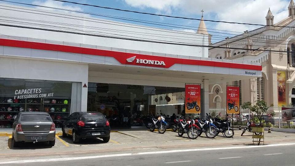 Loja Concessionária Motopel Honda Alagoinhas