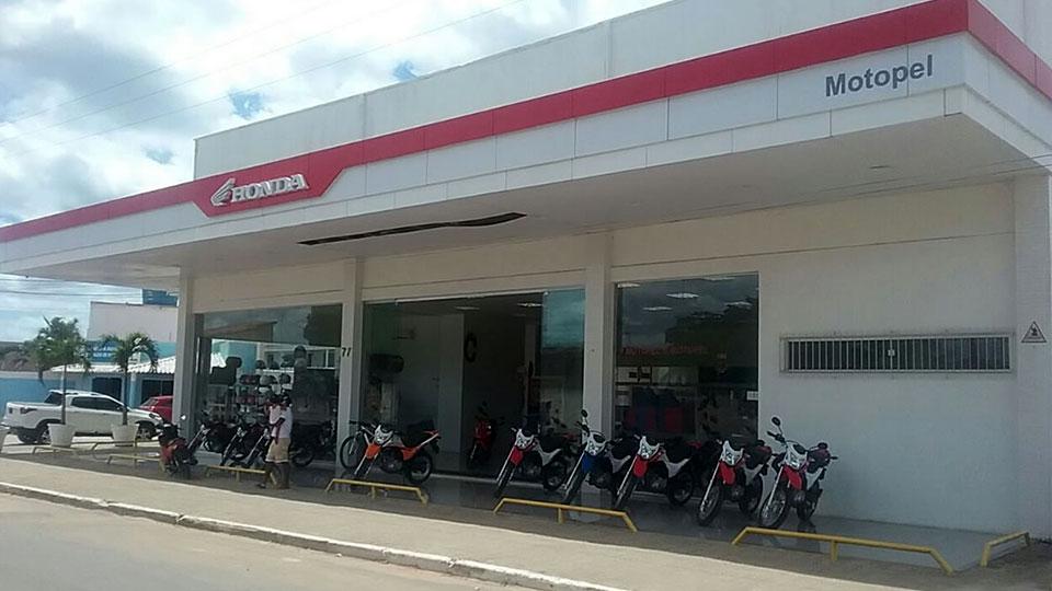 Loja Concessionária Motopel Honda Entre Rios