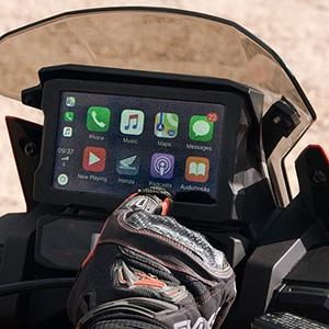 Integração com Apple Carplay™ e Android Auto®