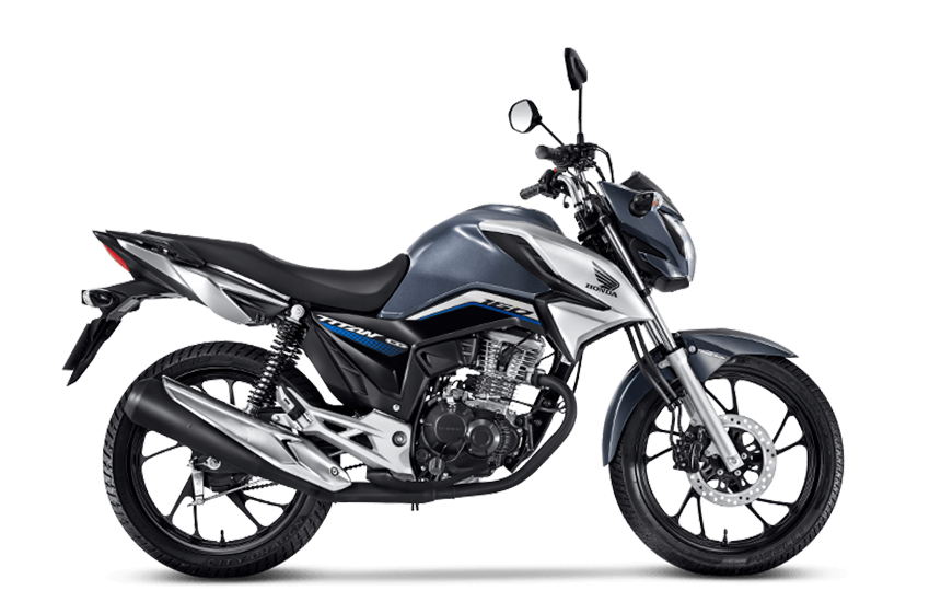 Moto Honda cg 160 titan Cinza