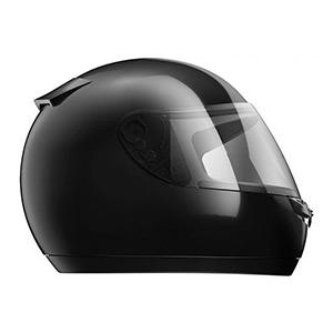 boutique capacete hfs classic preto - Moto Honda Motopel