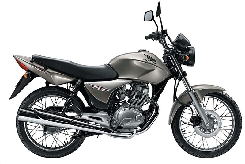 CG 150 Cinza - Moto Honda Motopel