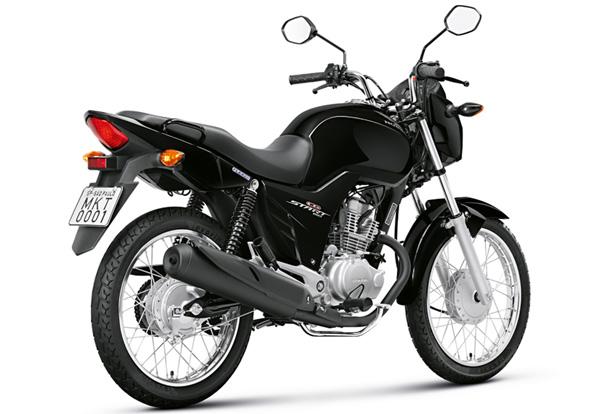 honda cg 150 start 1 - Moto Honda Motopel