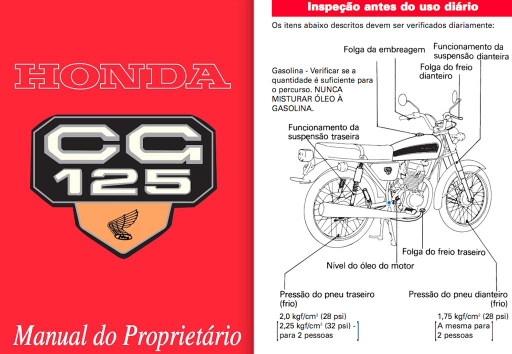 Manual do proprietário: sua moto na palma da mão