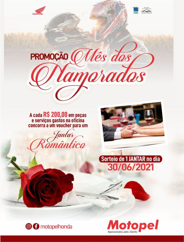 Promoção mês dos namorados Motopel