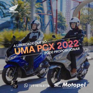novidade pcx 2022 - Moto Honda Motopel