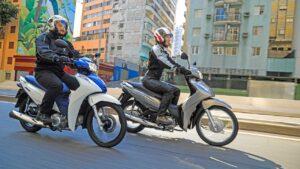 honda biz 110i e 125i 2022 dinamica dianteira - Moto Honda Motopel