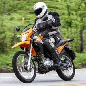 novidades primeira moto trail - Moto Honda Motopel