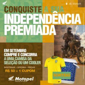 promocao setembro 2 - Moto Honda Motopel