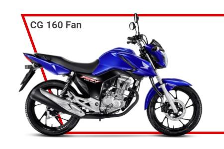 cg 160 2022 fan - Moto Honda Motopel