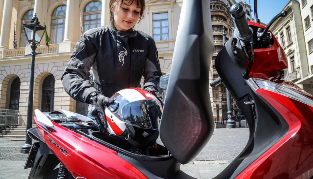 honda biz 110i 2020 capacete - Moto Honda Motopel