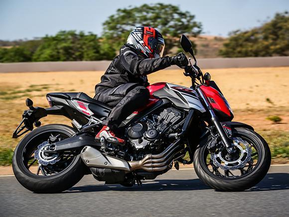 nova honda cb 650f encara as curvas de curvelo mg - Moto Honda Motopel