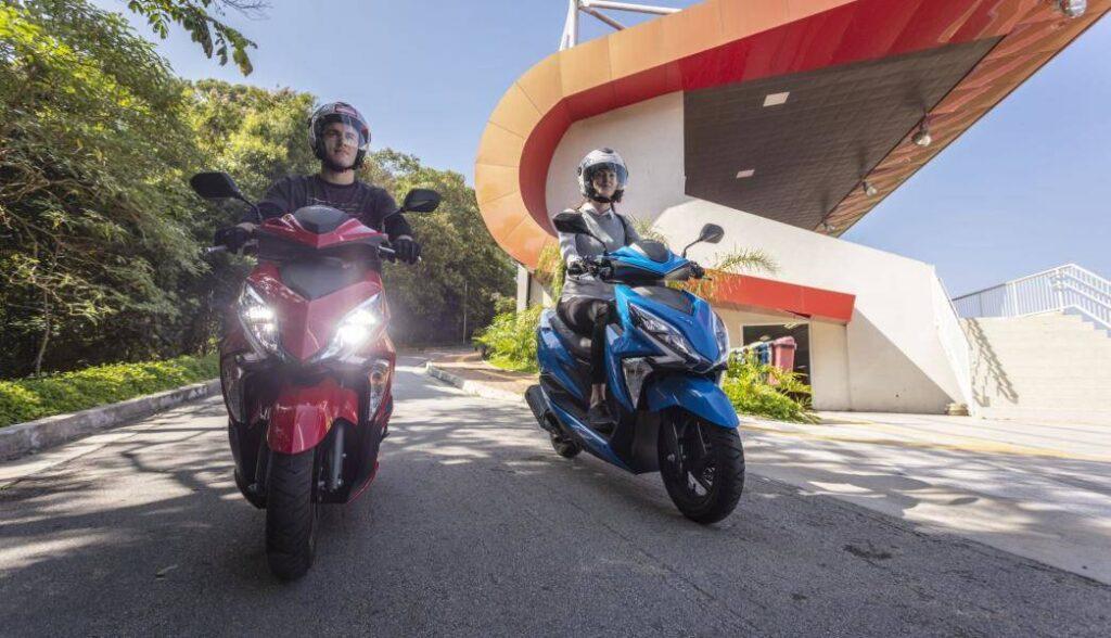 o bom comeco scooter treino e conselhos - Moto Honda Motopel